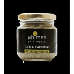Pate tofu carxofes  AHIMSA