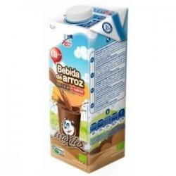 Beguda d'arròs amb cacao i...