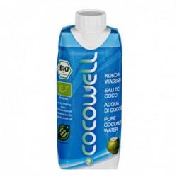 Aigua de coco COCOWELL 100%...
